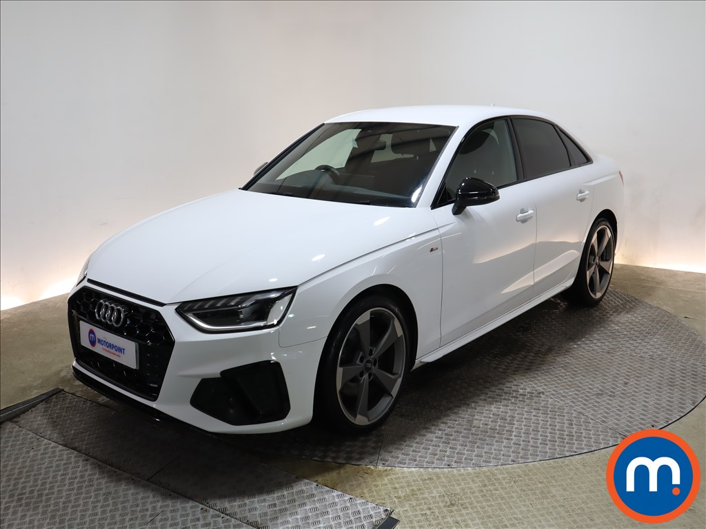 Audi A4 35 TFSI Black Edition 4dr S Tronic - Stock Number 1154617 Passenger side front corner