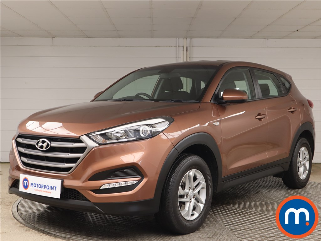 Hyundai Tucson 1.6 GDi Blue Drive S 5dr 2WD - Stock Number 1141363 Passenger side front corner