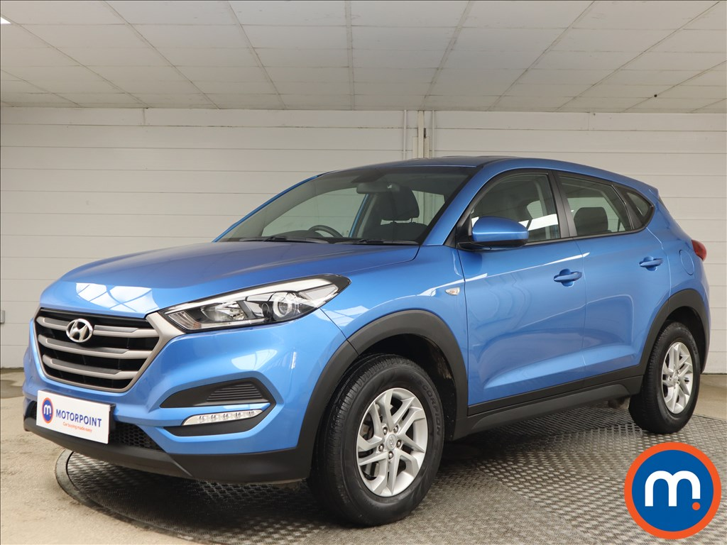 Hyundai Tucson 1.6 GDi Blue Drive S 5dr 2WD - Stock Number 1156703 Passenger side front corner