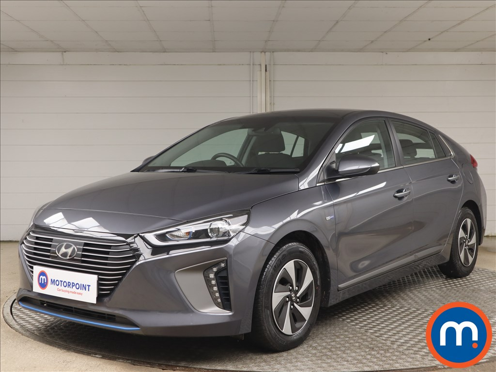 Hyundai Ioniq 1.6 GDi Hybrid Premium 5dr DCT - Stock Number 1145544 Passenger side front corner