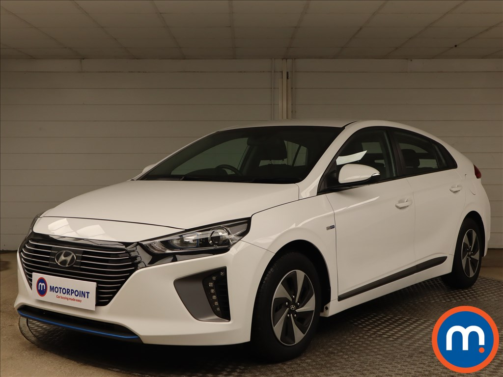 Hyundai Ioniq 1.6 GDi Hybrid SE 5dr DCT - Stock Number 1141393 Passenger side front corner