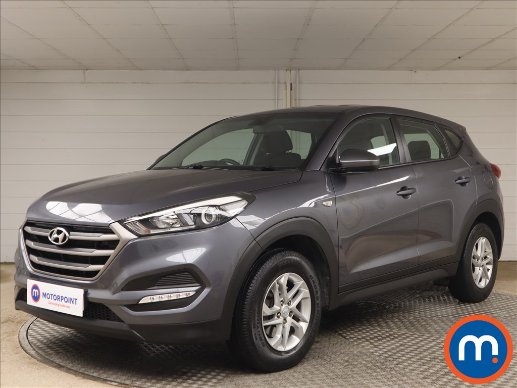 Hyundai Tucson 1.7 CRDi Blue Drive S 5dr 2WD - Stock Number 1157940 Passenger side front corner