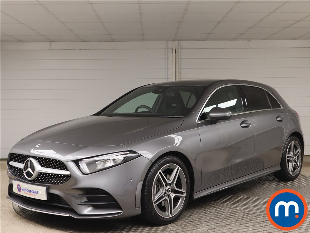 Mercedes-Benz A Class A180 AMG Line Executive 5dr Auto - Stock Number 1156190 Passenger side front corner