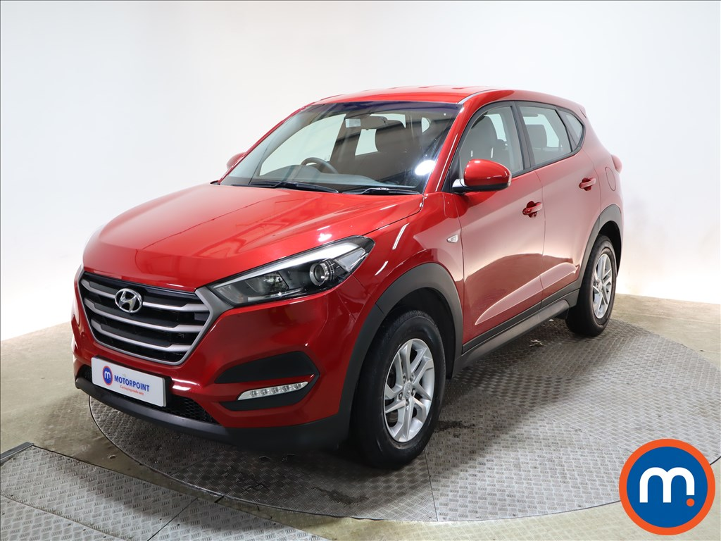 Hyundai Tucson 1.7 CRDi Blue Drive S 5dr 2WD - Stock Number 1158088 Passenger side front corner