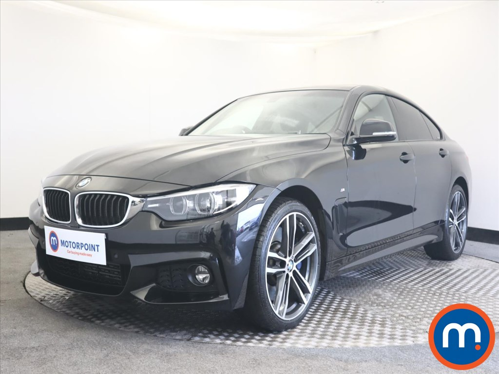 BMW 4 Series 435d xDrive M Sport 5dr Auto [Professional Media] - Stock Number 1155891 Passenger side front corner