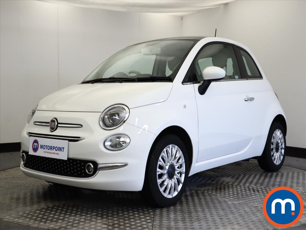 Fiat 500 1.2 Lounge 3dr - Stock Number 1156322 Passenger side front corner