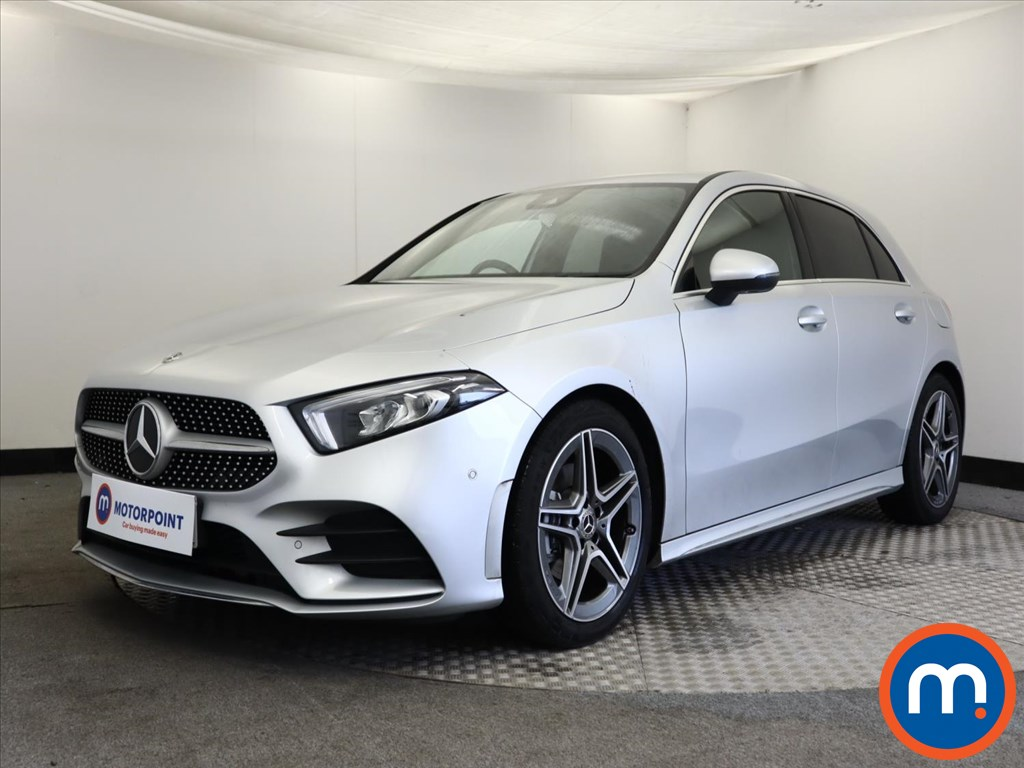 Mercedes-Benz A Class A180 AMG Line Executive 5dr - Stock Number 1157189 Passenger side front corner