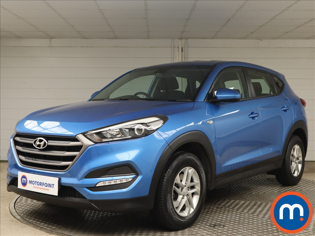 Hyundai Tucson 1.6 GDi Blue Drive S 5dr 2WD - Stock Number 1158011 Passenger side front corner