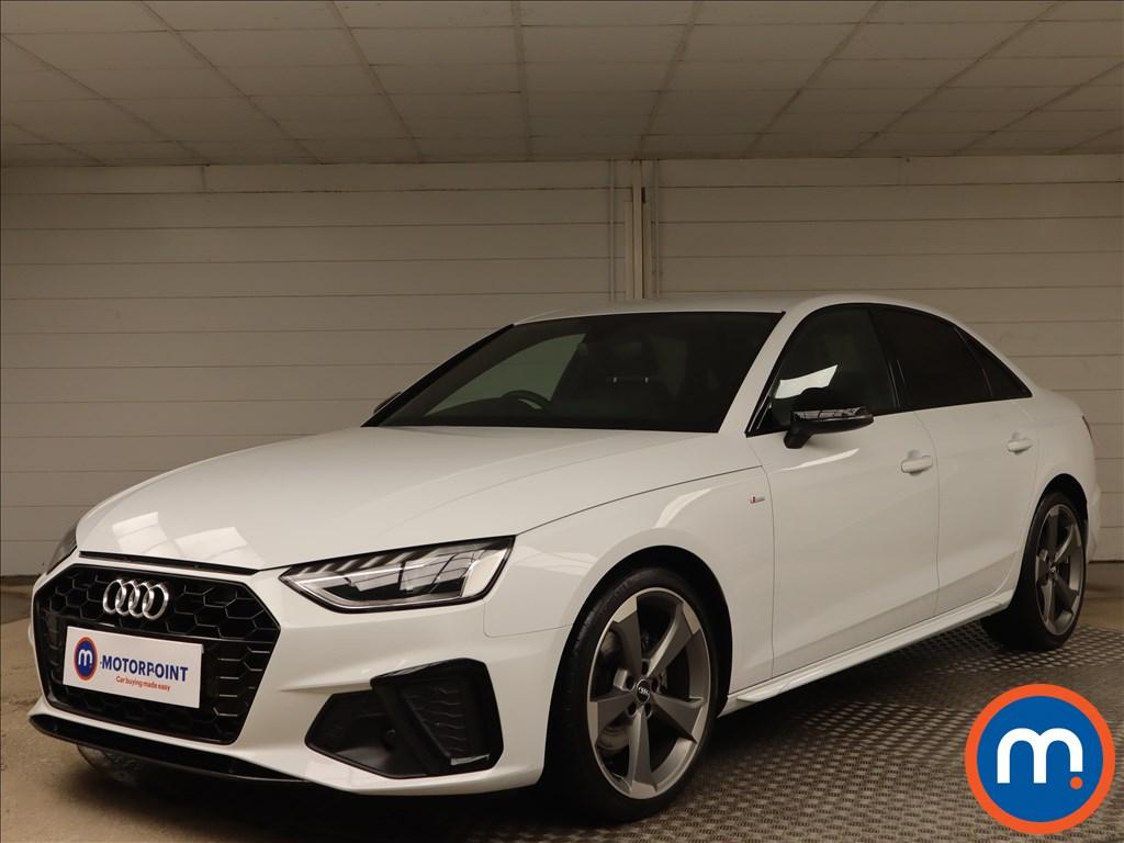 Audi A4 35 TFSI Black Edition 4dr - Stock Number 1156213 Passenger side front corner
