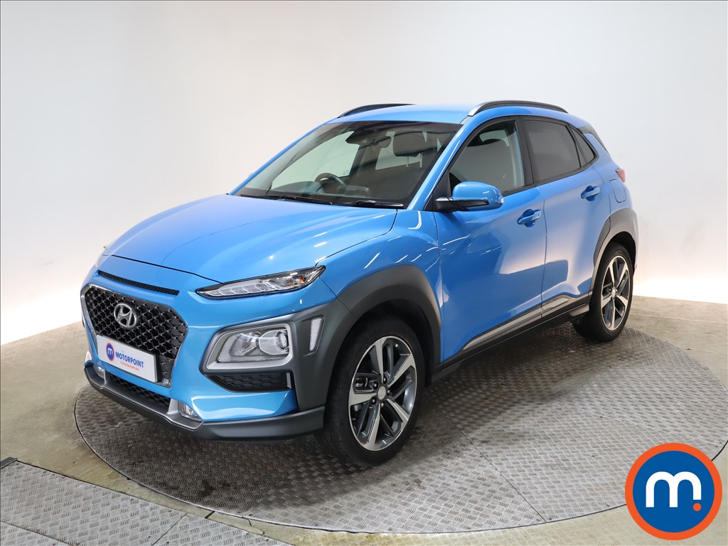 Hyundai Kona 1.0T GDi Blue Drive Premium 5dr - Stock Number 1156552 Passenger side front corner