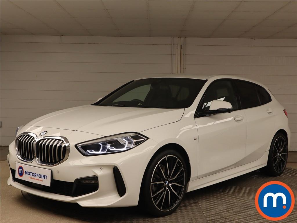 BMW 1 Series 118d M Sport 5dr Step Auto - Stock Number 1156220 Passenger side front corner