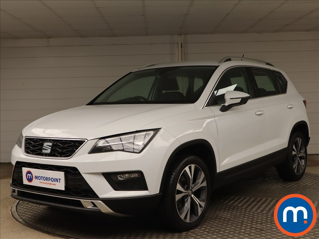 Seat Ateca 1.6 TDI Ecomotive SE Technology 5dr - Stock Number 1156777 Passenger side front corner