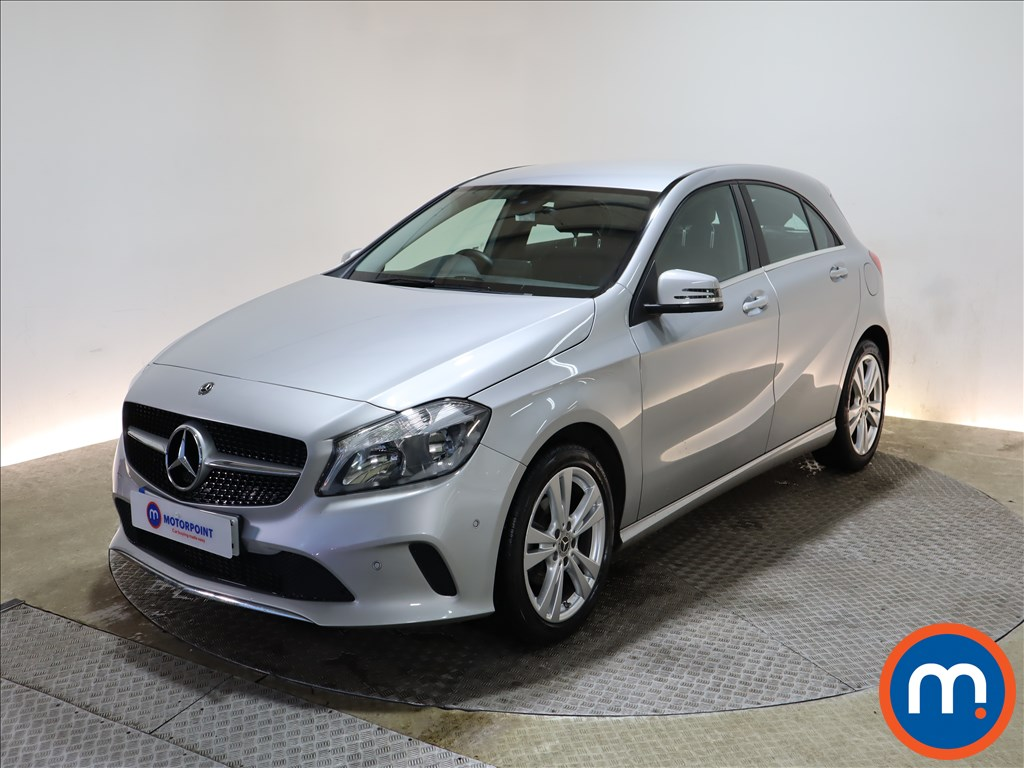Mercedes-Benz A Class A180d Sport Executive 5dr - Stock Number 1153052 Passenger side front corner