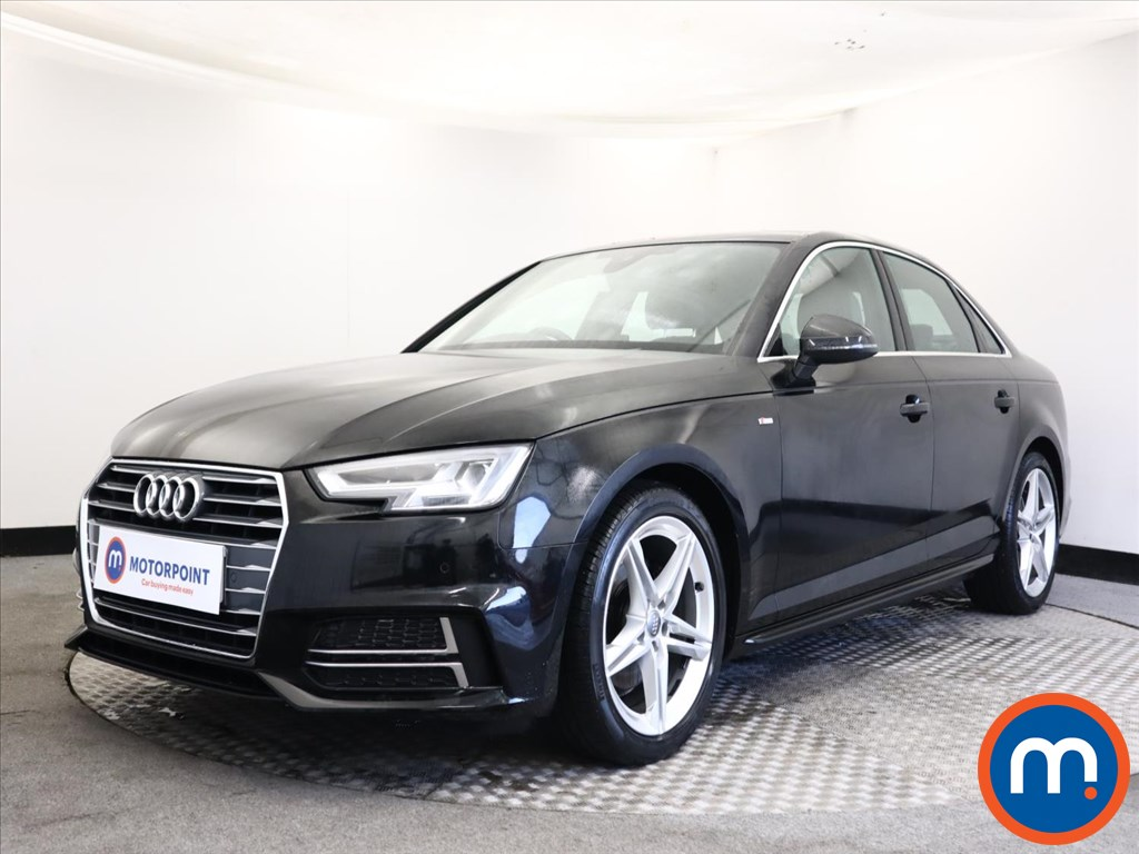 Audi A4 1.4T FSI S Line 4dr S Tronic [Leather-Alc] - Stock Number 1159564 Passenger side front corner
