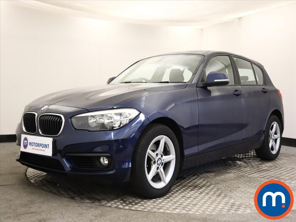 BMW 1 Series 118d SE 5dr [Nav-Servotronic] - Stock Number 1159932 Passenger side front corner