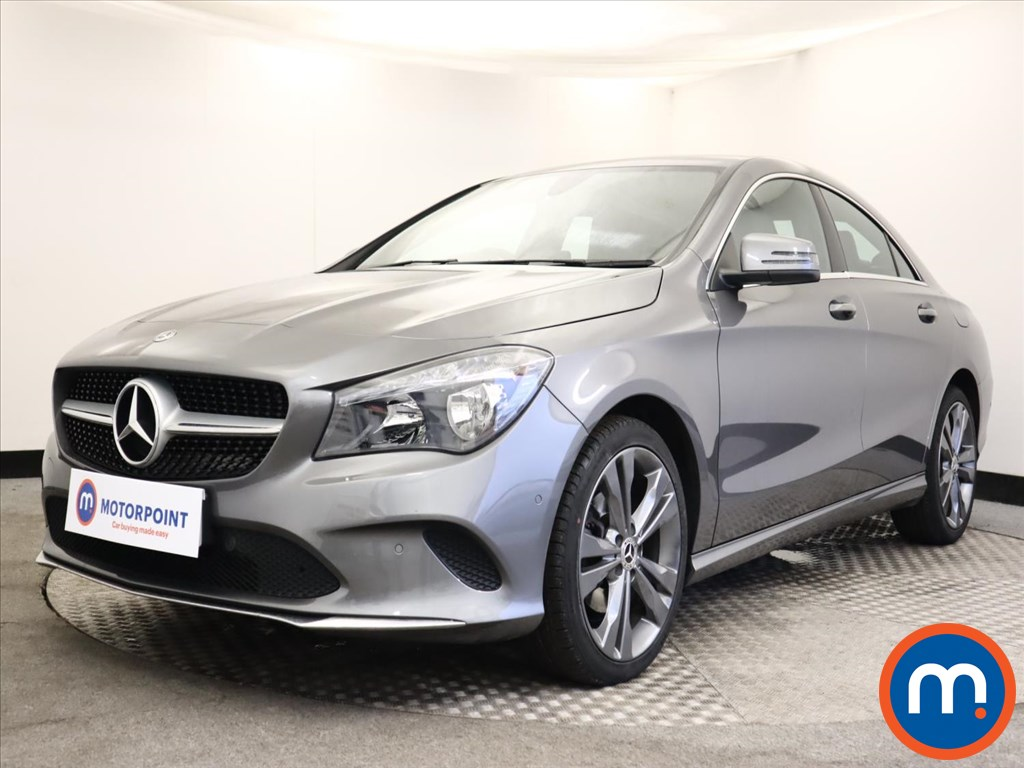 Mercedes-Benz CLA CLA 200d Sport 4dr [Map Pilot] - Stock Number 1150373 Passenger side front corner