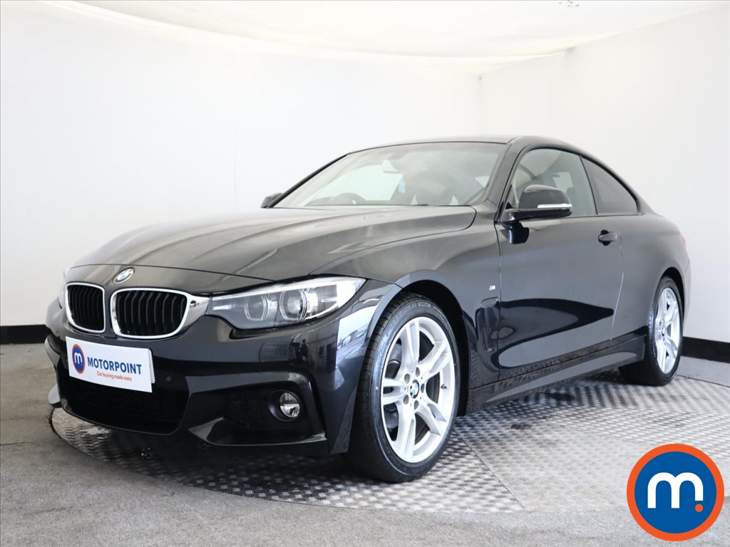 BMW 4 Series 420i M Sport 2dr Auto [Professional Media] - Stock Number 1147702 Passenger side front corner