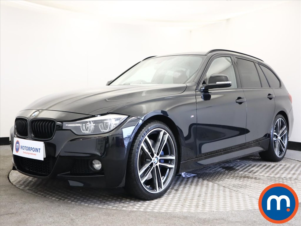 BMW 3 Series 320i M Sport Shadow Edition 5dr Step Auto - Stock Number 1160465 Passenger side front corner