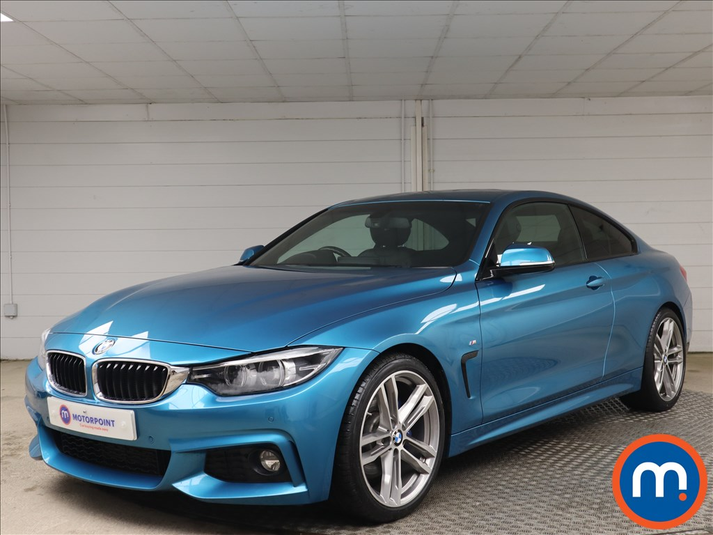 BMW 4 Series 420d [190] xDrive M Sport 2dr Auto [Prof Media] - Stock Number 1156694 Passenger side front corner