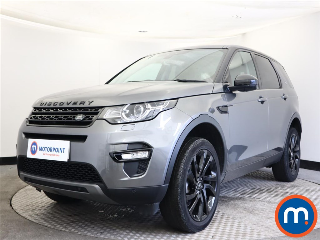 Land Rover Discovery Sport 2.0 TD4 180 HSE Black 5dr Auto - Stock Number 1160611 Passenger side front corner