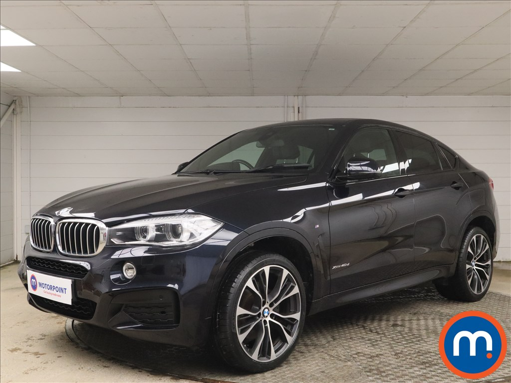 BMW X6 xDrive40d M Sport Edition 5dr Step Auto - Stock Number 1161182 Passenger side front corner