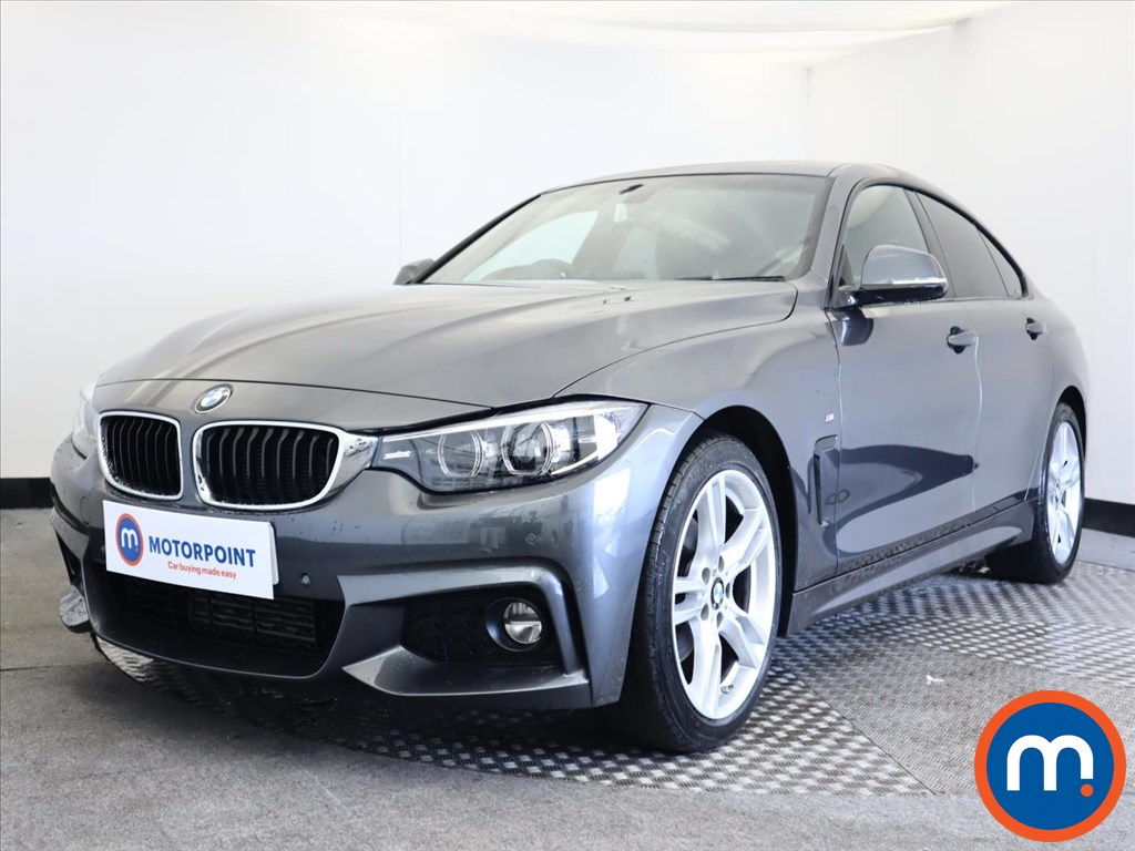 BMW 4 Series 420d [190] M Sport 5dr Auto [Professional Media] - Stock Number 1158904 Passenger side front corner