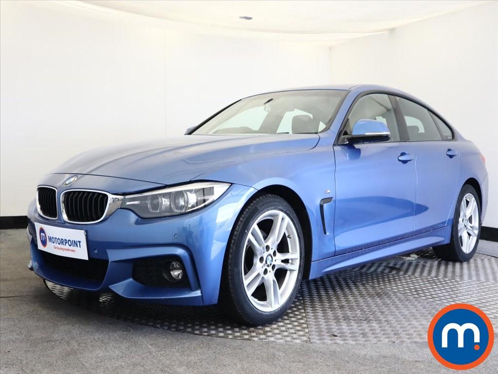 BMW 4 Series 420i M Sport 5dr [Professional Media] - Stock Number 1161295 Passenger side front corner
