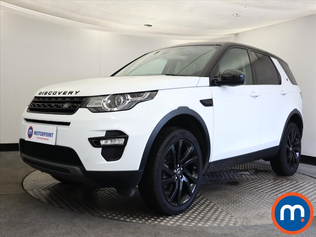 Land Rover Discovery Sport 2.0 TD4 180 HSE Black 5dr Auto - Stock Number 1159511 Passenger side front corner