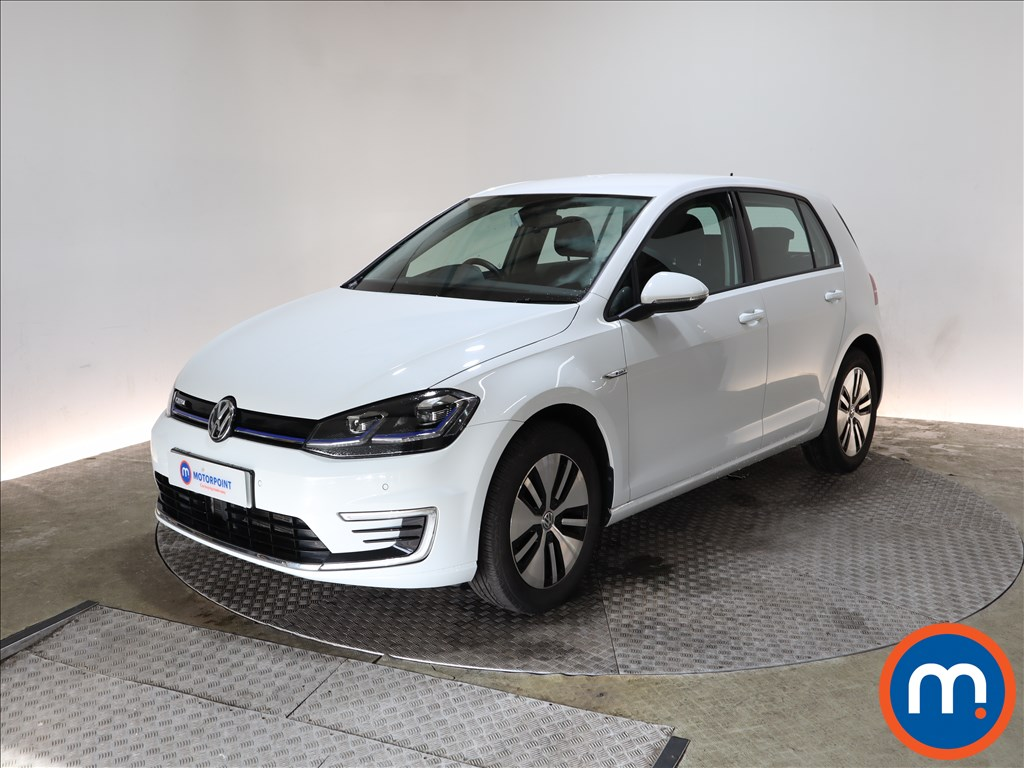 Volkswagen Golf 99kW e-Golf 35kWh 5dr Auto - Stock Number 1157972 Passenger side front corner