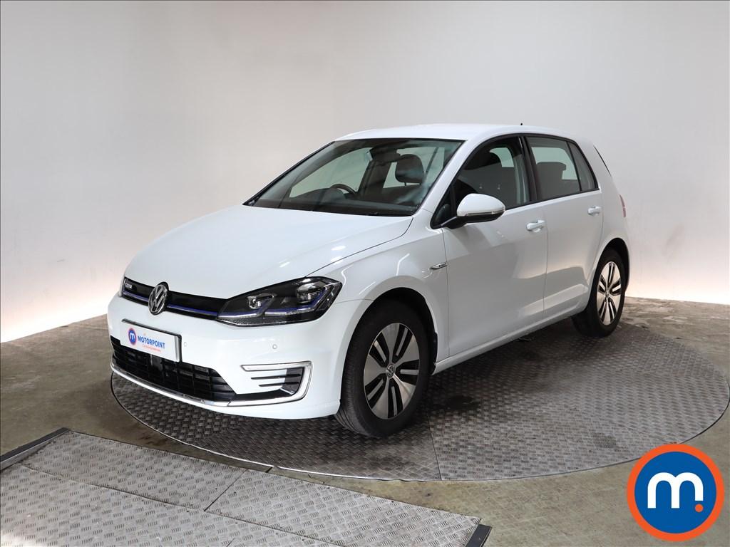 Volkswagen Golf 99kW e-Golf 35kWh 5dr Auto - Stock Number 1157972 Passenger side front corner