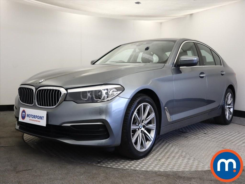 BMW 5 Series 520d SE 4dr Auto - Stock Number 1163540 Passenger side front corner