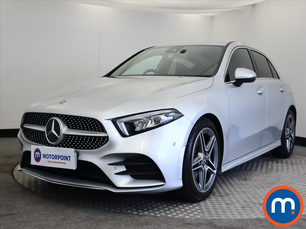Mercedes-Benz A Class A180 AMG Line Executive 5dr - Stock Number 1164281 Passenger side front corner