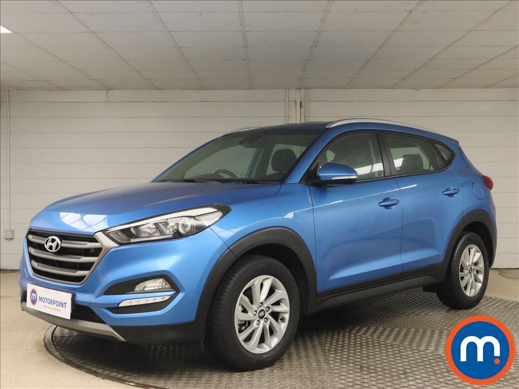 Hyundai Tucson 1.7 CRDi Blue Drive SE 5dr 2WD DCT - Stock Number 1162556 Passenger side front corner