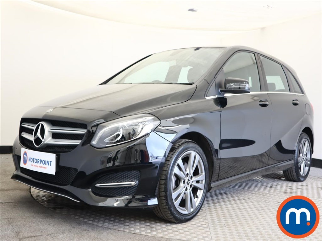 Mercedes-Benz B Class B180 Exclusive Edition 5dr - Stock Number 1163526 Passenger side front corner