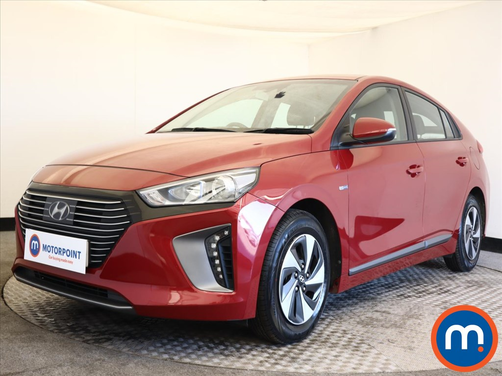 Hyundai Ioniq 1.6 GDi Hybrid SE 5dr DCT - Stock Number 1164382 Passenger side front corner