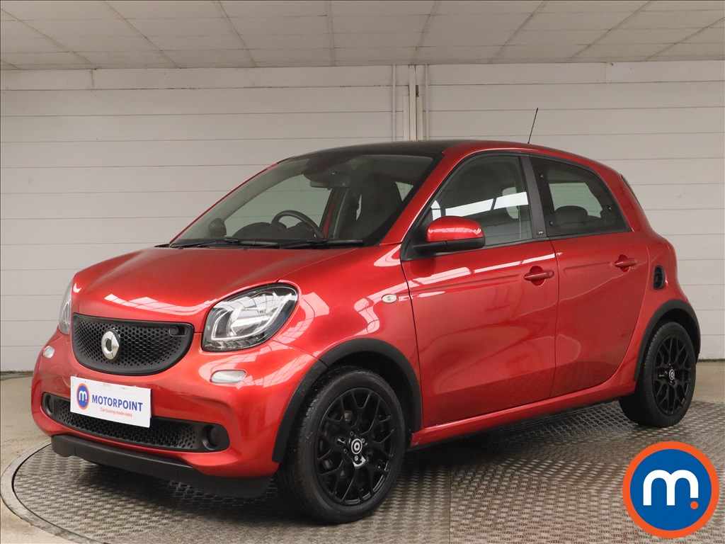 Smart Forfour 1.0 Prime Sport Premium 5dr Auto - Stock Number 1158364 Passenger side front corner