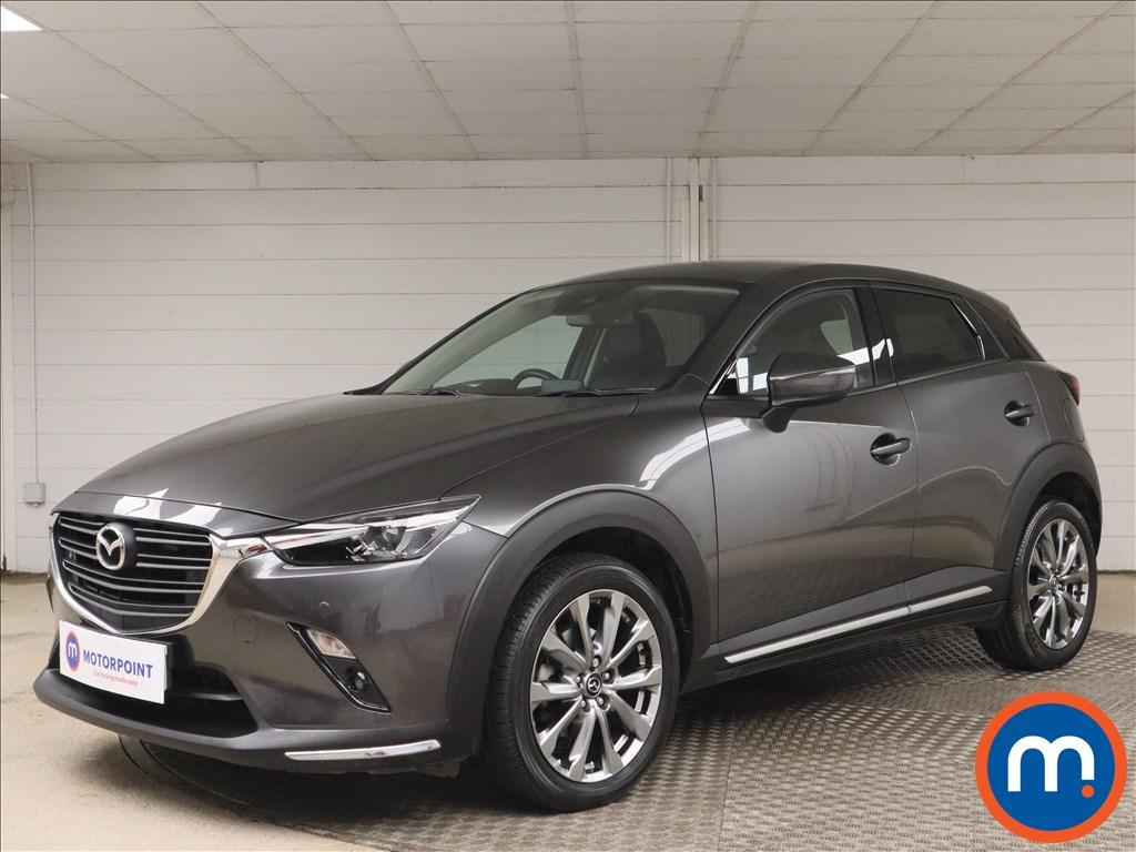 Mazda Cx-3 2.0 Sport Nav -Plus 5dr Auto - Stock Number 1164236 Passenger side front corner