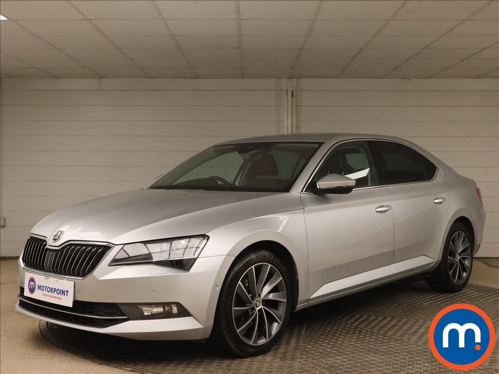 Skoda Superb 2.0 TDI CR Laurin -Plus Klement 5dr - Stock Number 1163885 Passenger side front corner