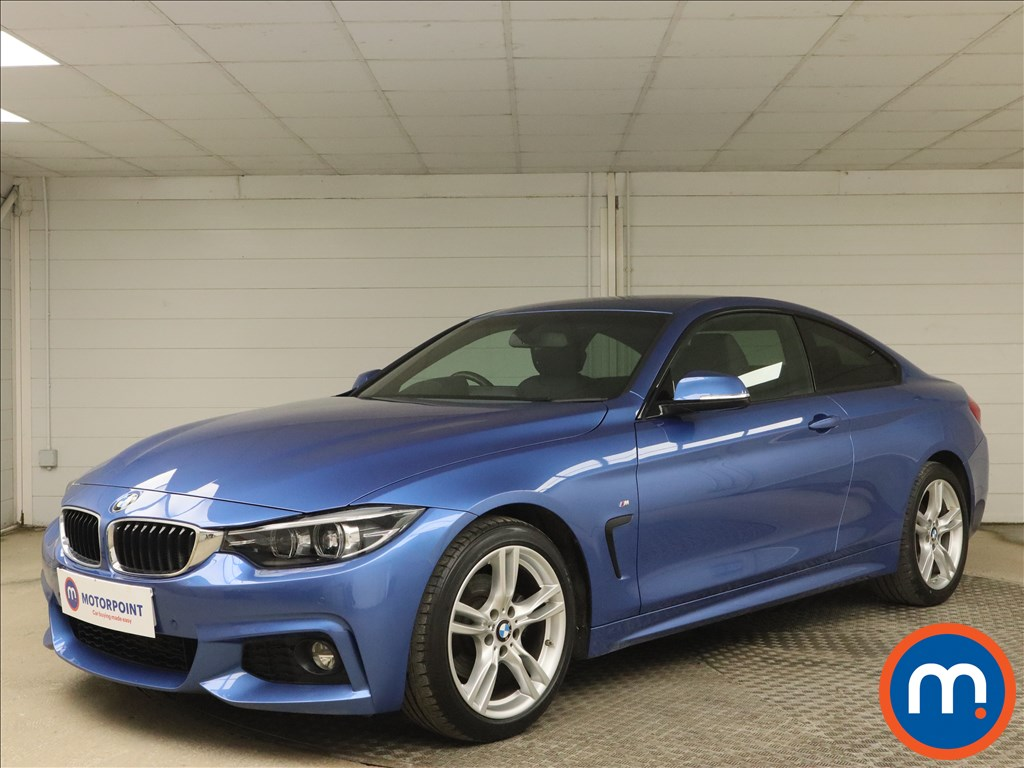 BMW 4 Series 420d [190] M Sport 2dr Auto [Professional Media] - Stock Number 1163893 Passenger side front corner