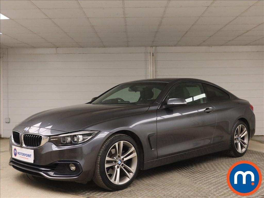 BMW 4 Series 420i Sport 2dr Auto [Business Media] - Stock Number 1161467 Passenger side front corner