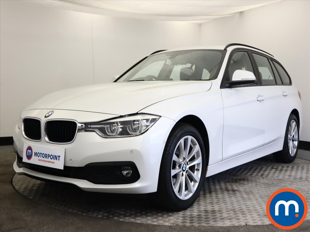 BMW 3 Series 316d SE 5dr Step Auto - Stock Number 1165937 Passenger side front corner