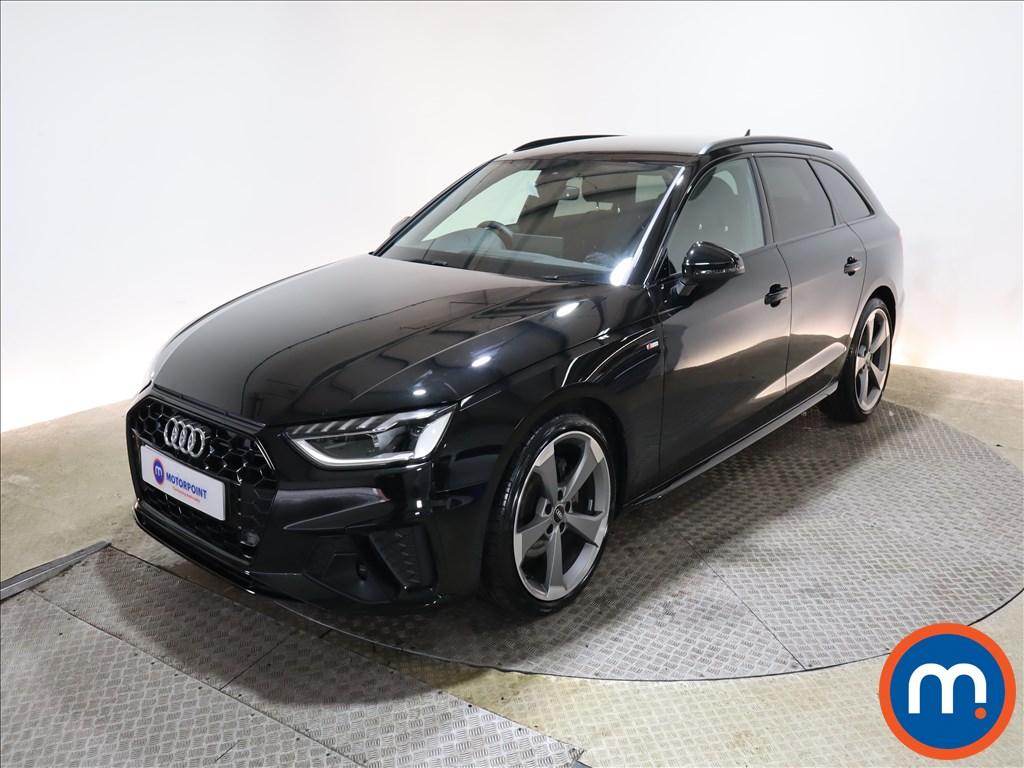 Audi A4 35 TFSI Black Edition 5dr S Tronic - Stock Number 1164082 Passenger side front corner