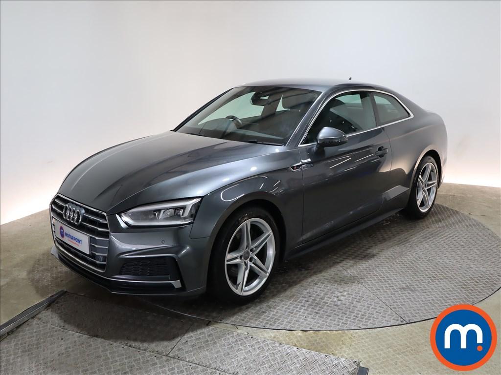 Audi A5 2.0 TFSI S Line 2dr S Tronic - Stock Number 1164339 Passenger side front corner