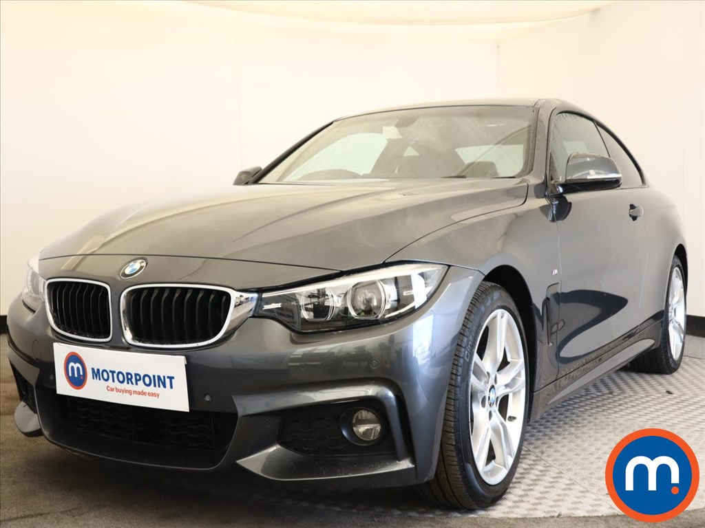 BMW 4 Series 420i M Sport 2dr [Professional Media] - Stock Number 1165069 Passenger side front corner