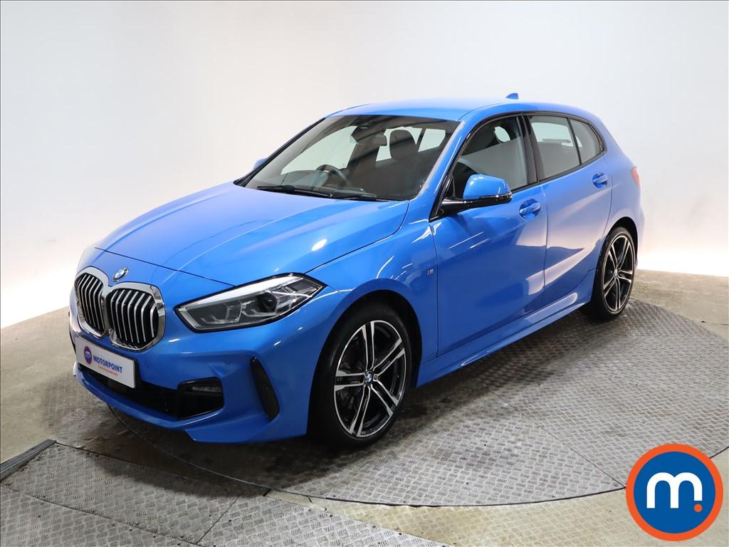 BMW 1 Series 118i M Sport 5dr Step Auto - Stock Number 1164170 Passenger side front corner