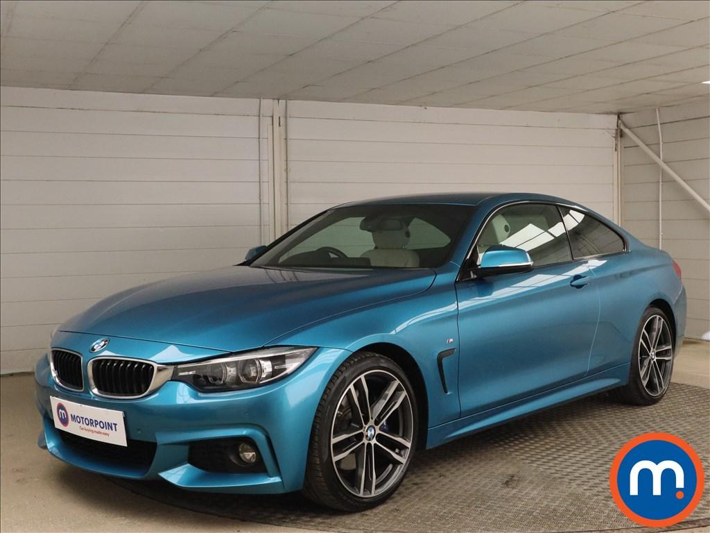 BMW 4 Series 420i M Sport 2dr Auto [Professional Media] - Stock Number 1164763 Passenger side front corner