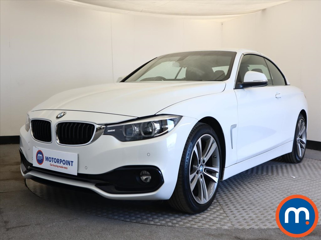 BMW 4 Series 420d [190] Sport 2dr [Business Media] - Stock Number 1165325 Passenger side front corner