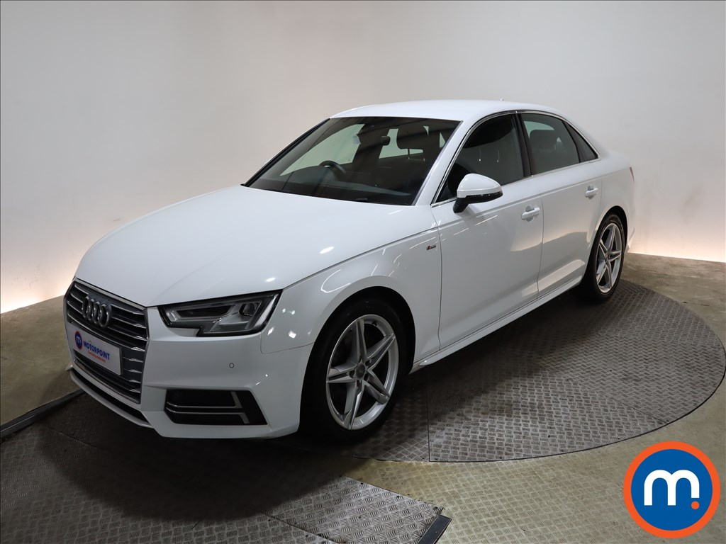 Audi A4 1.4T FSI S Line 4dr [Leather-Alc] - Stock Number 1164328 Passenger side front corner