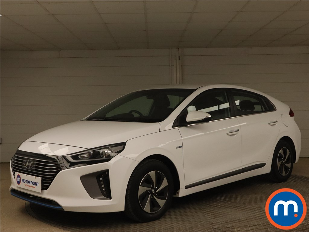 Hyundai Ioniq 1.6 GDi Hybrid Premium 5dr DCT - Stock Number 1165597 Passenger side front corner