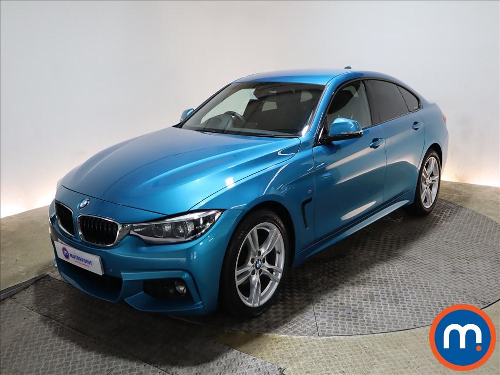 BMW 4 Series 420d [190] M Sport 5dr Auto [Professional Media] - Stock Number 1166538 Passenger side front corner